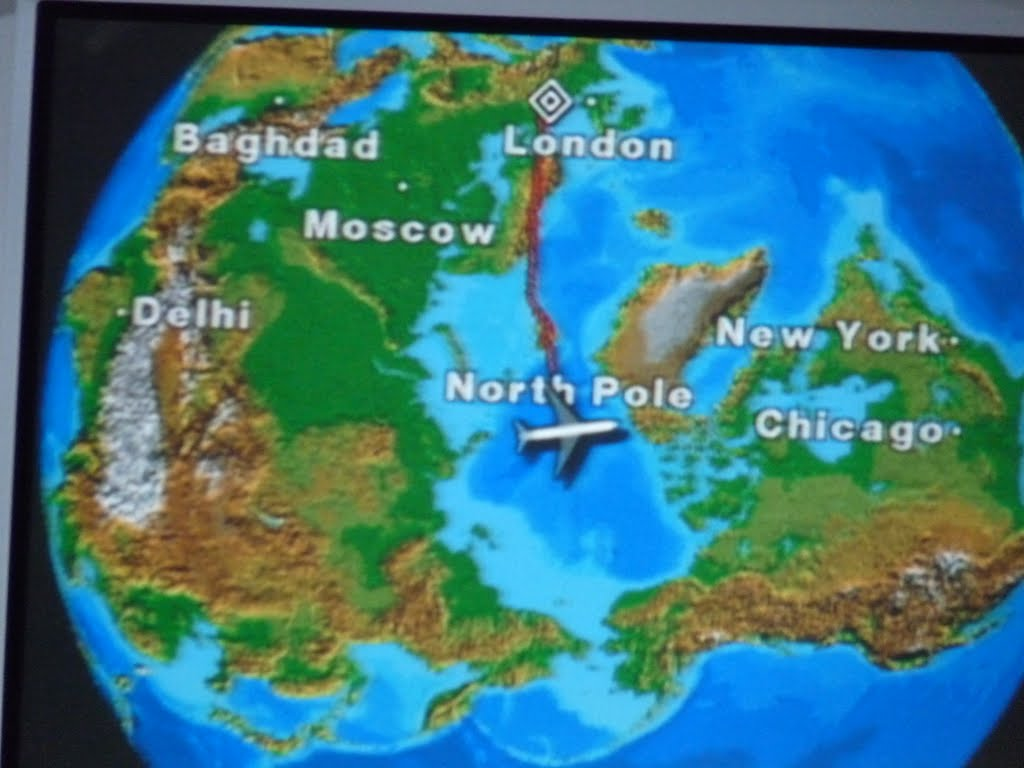 Top of the world North Pole
