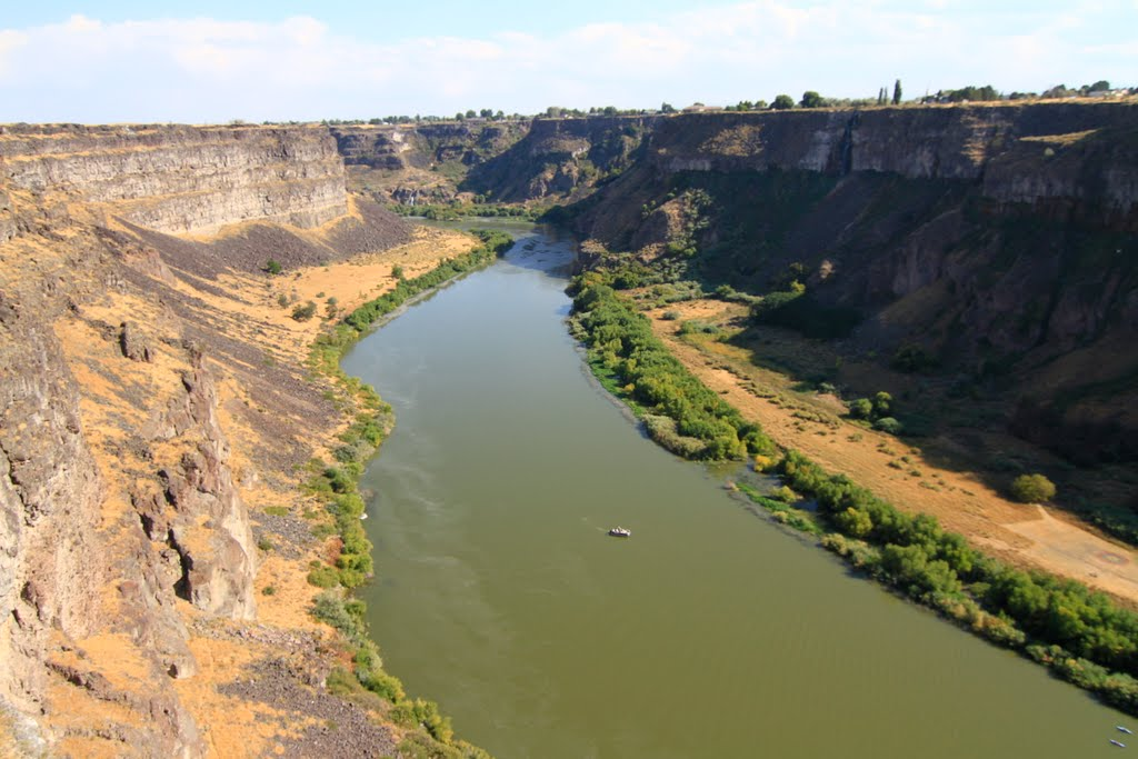 Look Out Point at Perrine Bridge - Twin Falls