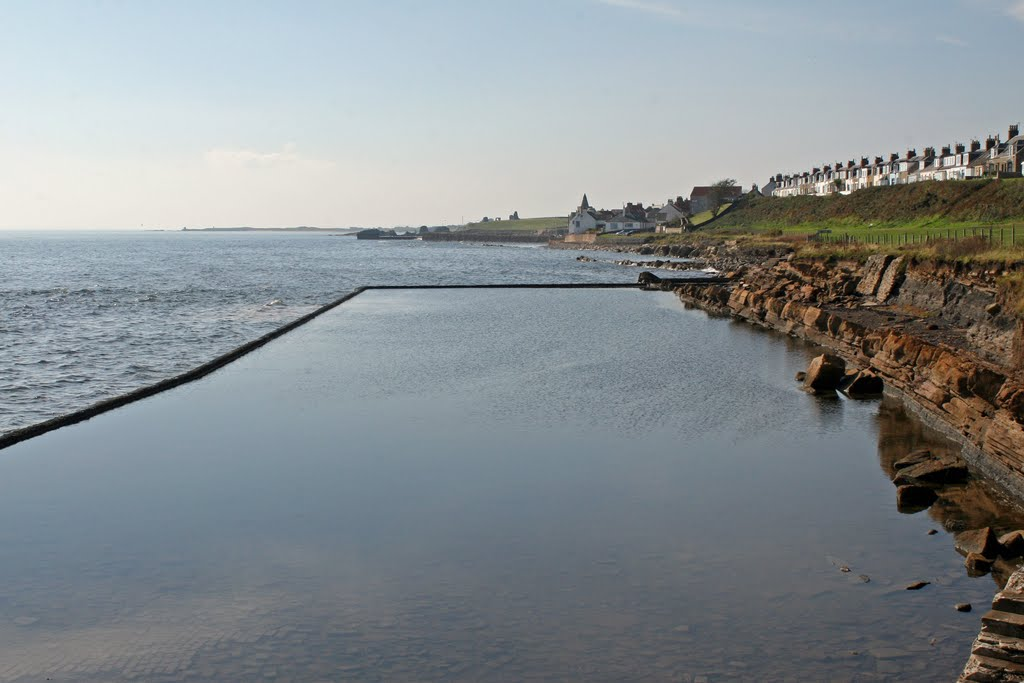 St Monans Tidal Swimming Pool Fresh Water Twice A Day Sadly Now Abandoned Mapio Net