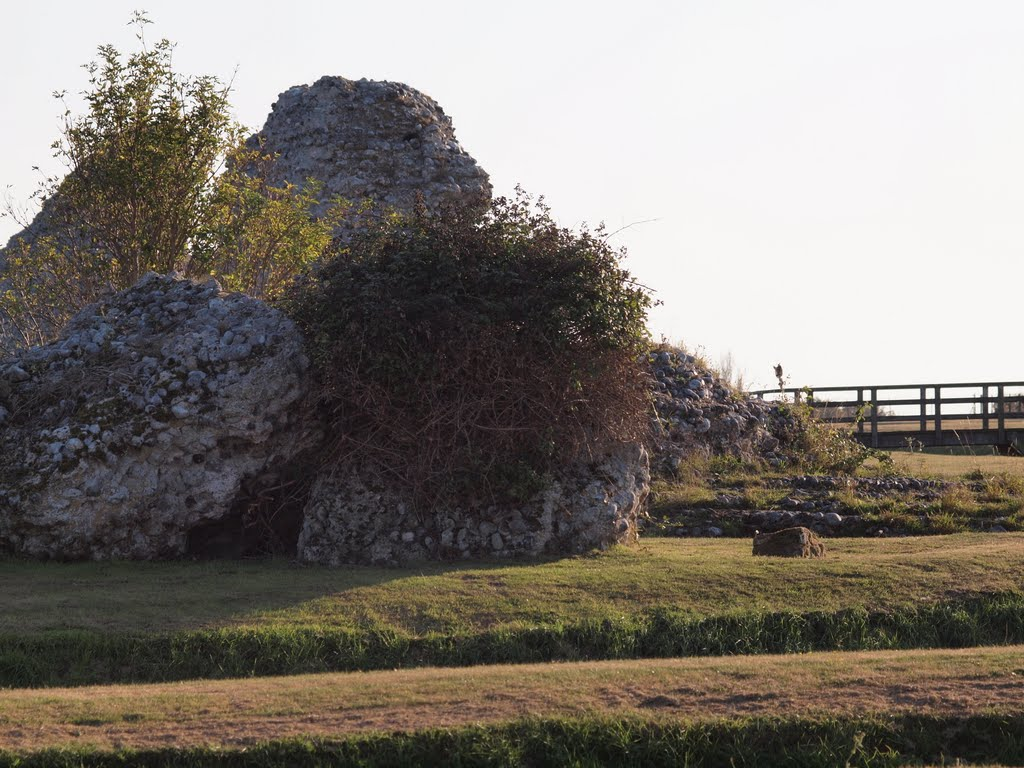 remains of roman fort