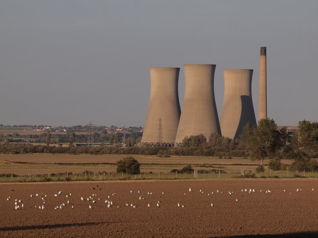 Old power station cooling towers Nr Sandwich.