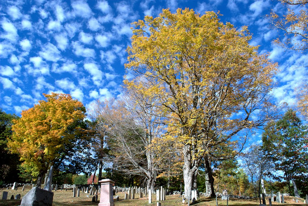 October in Lockehaven Cemetary, Enfield, NH