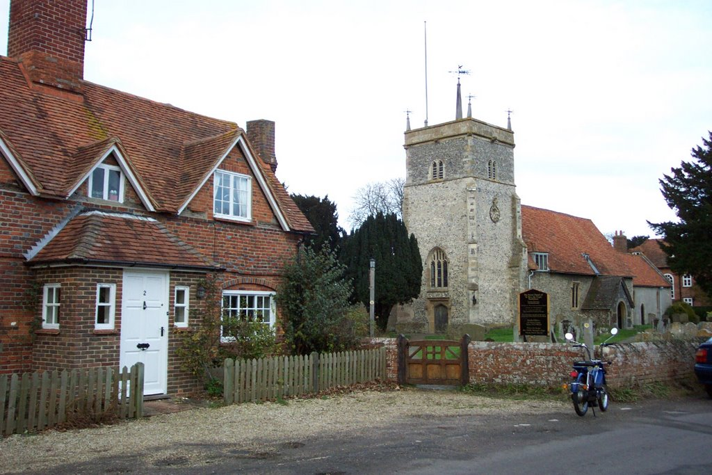 St Peter's at Bucklebury