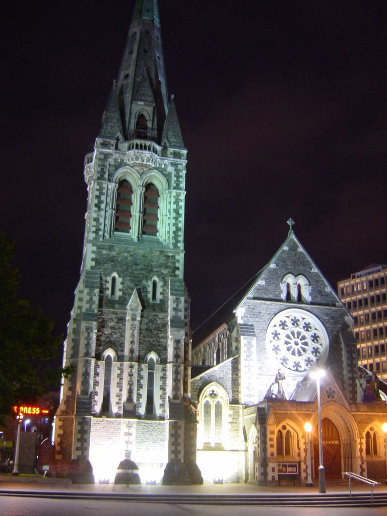 Christchurch's Cathedral, New Zealand