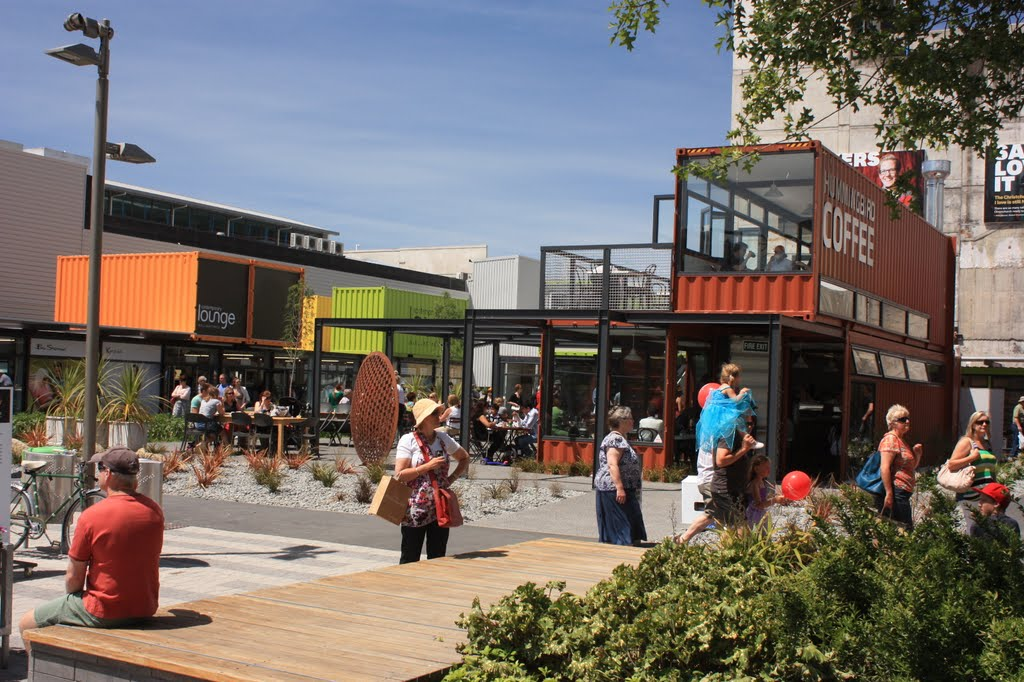 Cashel St Container Mall