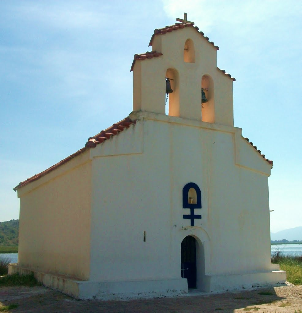 chapel near kalogria beach