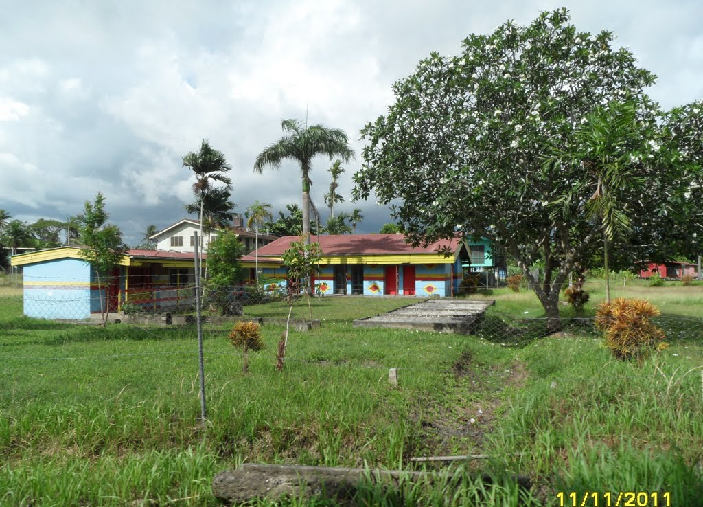Passing a School in INAUAIA, on 11-11-2011