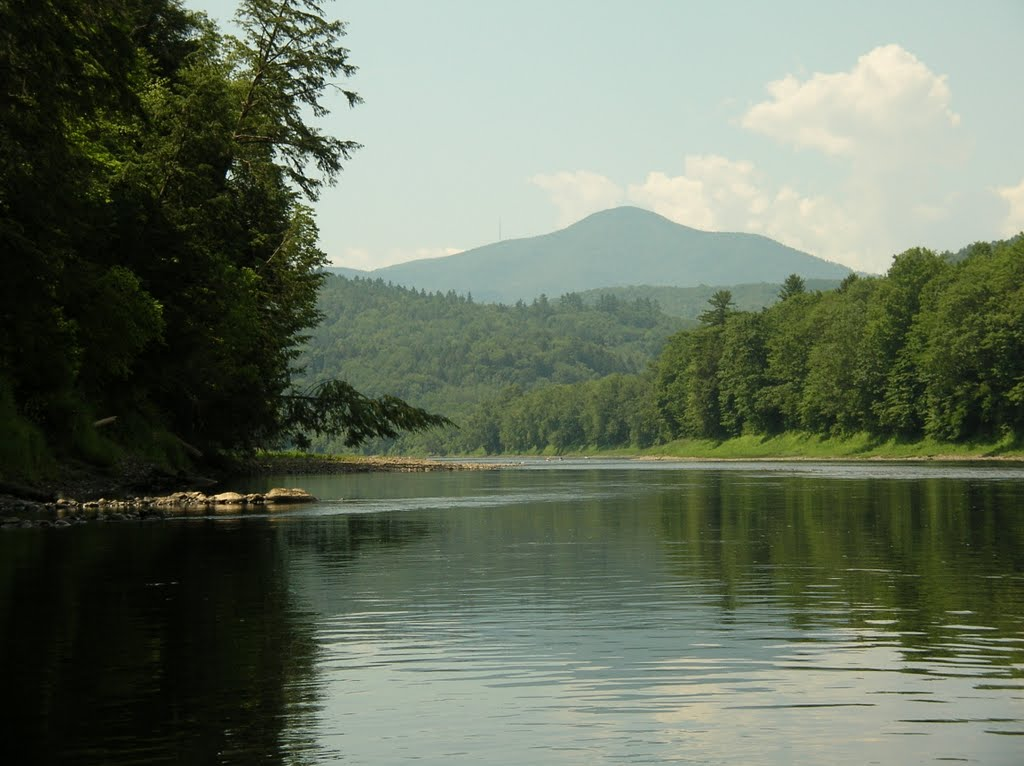 Mt Ascutney from the CT River