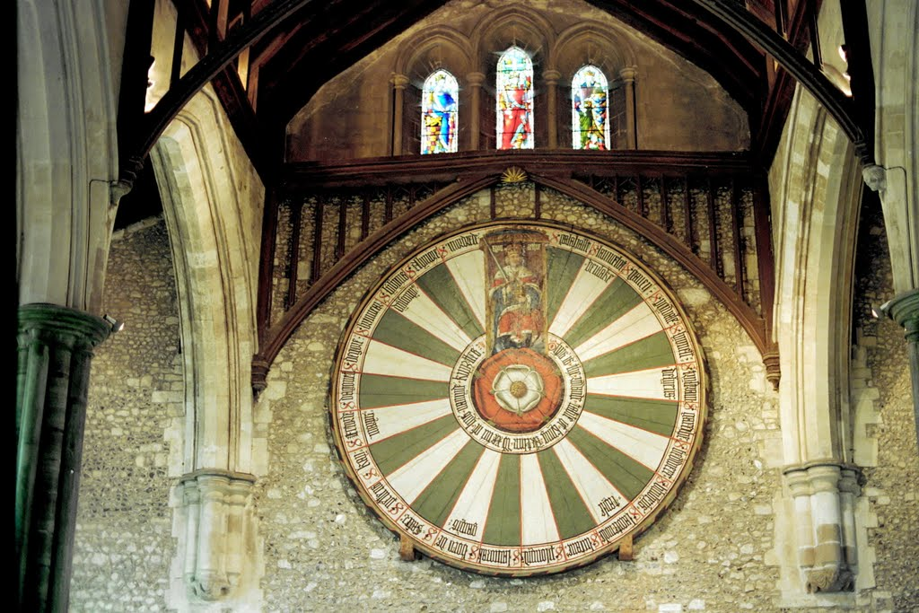 King Arthur Round Table Winchester, Winchester Cathedral Round Table