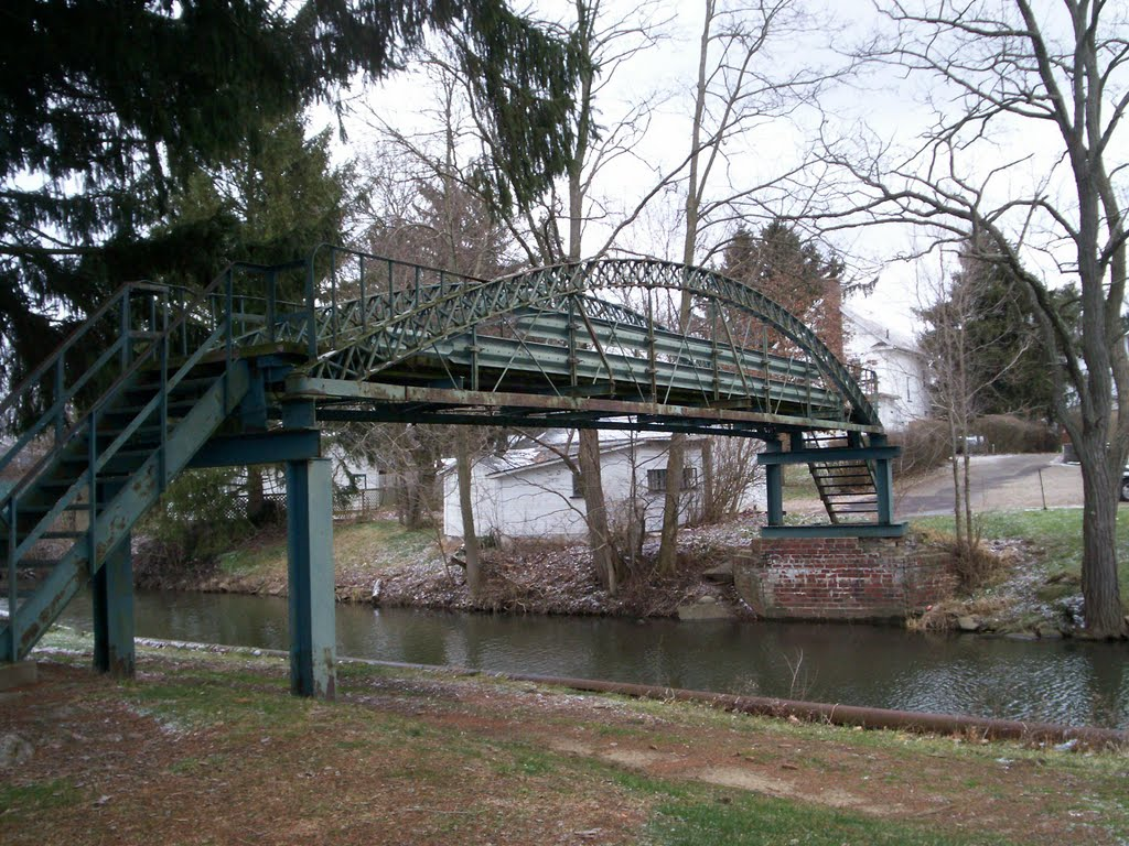 Foot Bridge Over Canal