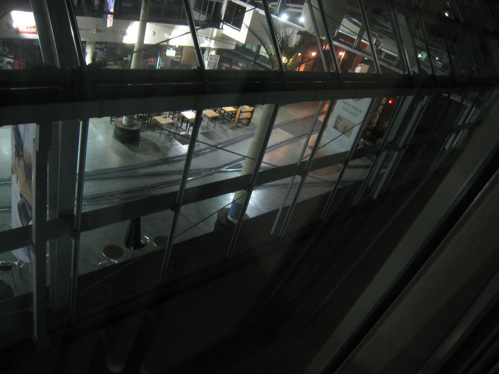 View of the junction from the Quest Hotel