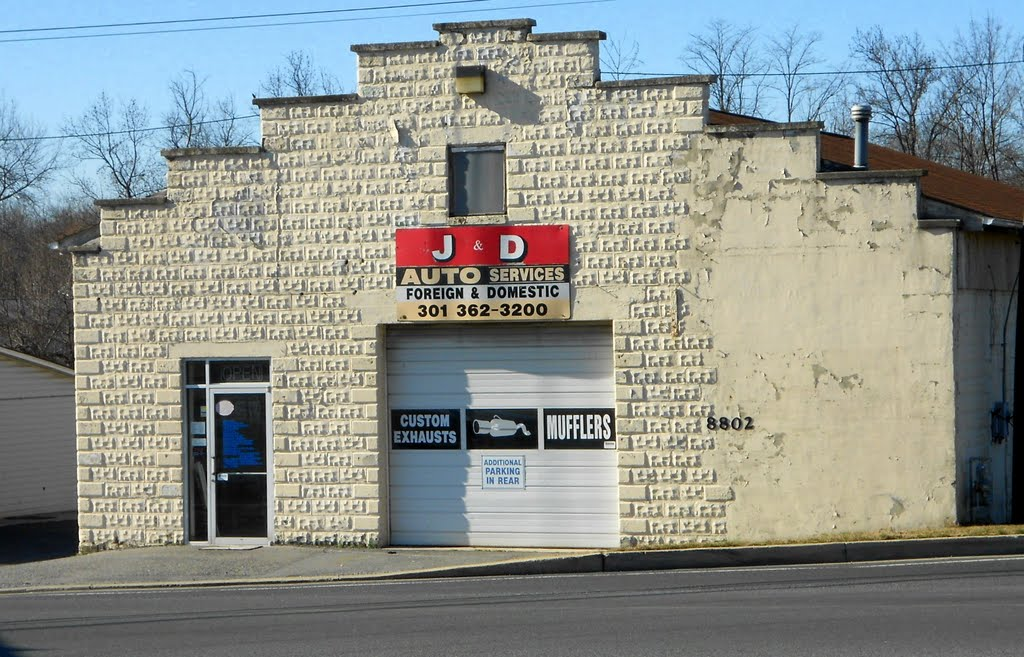 J And D Auto >> Guilford Road Howard County Mapio Net