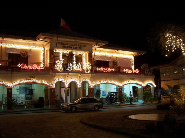 Silang Mayors Office - Night Time