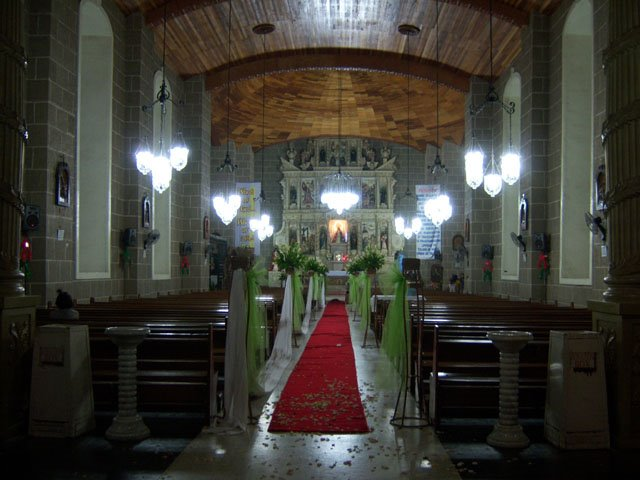 Silang Catholic Church - Interior