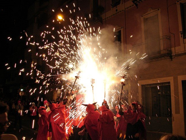 Fiesta Major de Gracia, Barcelona.