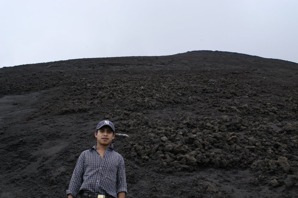Yankee Mountain Goat.  Introducing to you: Volcano Climbing Master Don Andres.