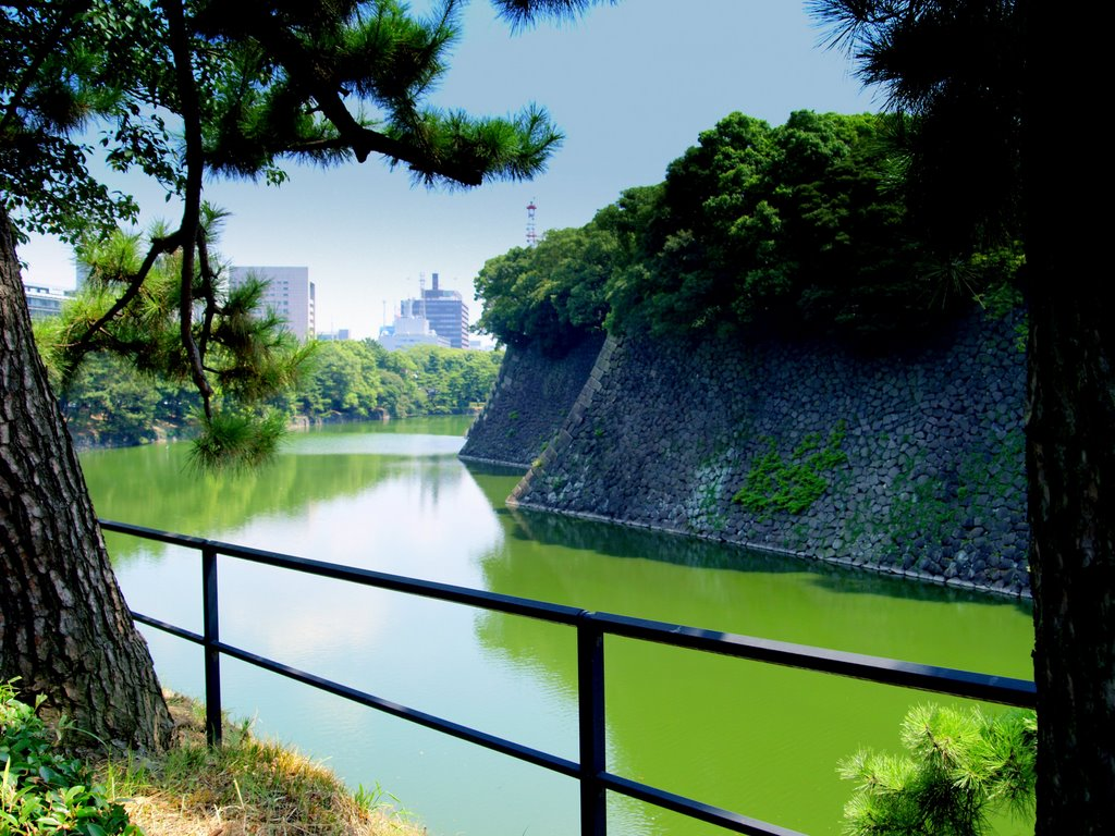 Moats and walls,  Imperial Palace
