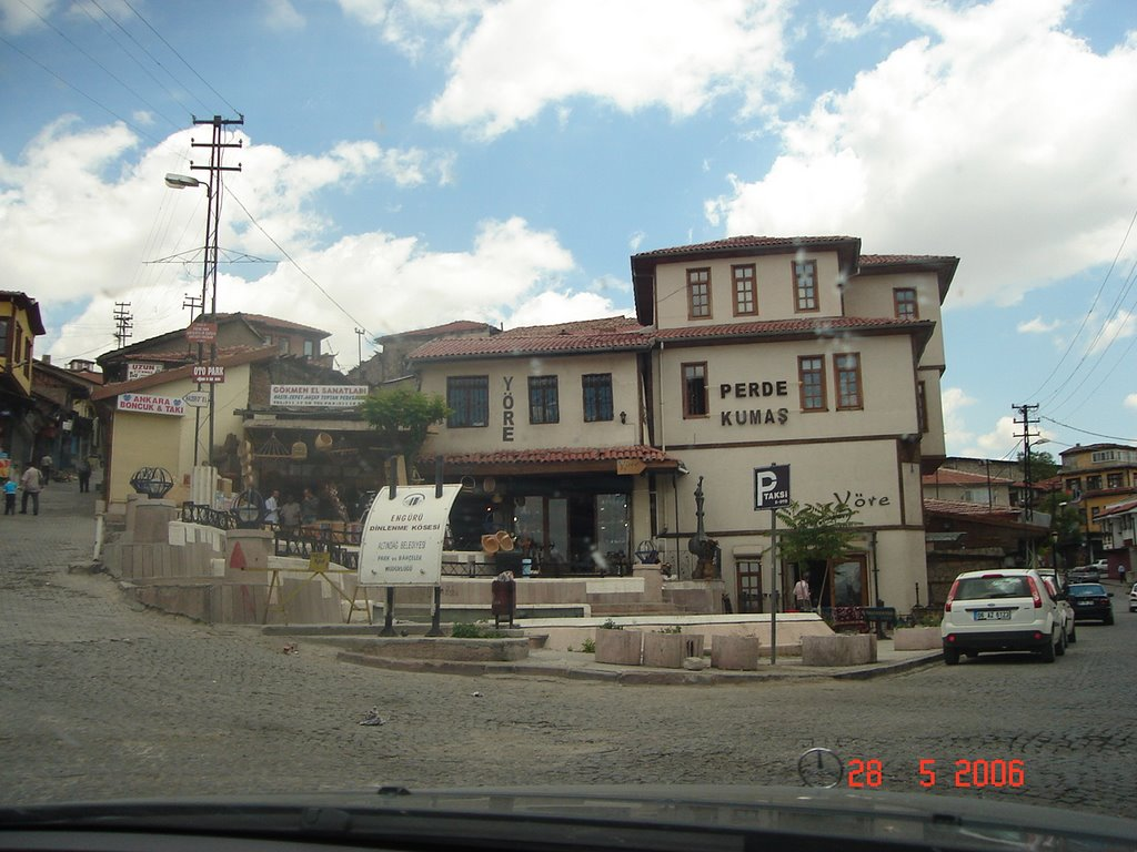 Place in the old part of Ankara