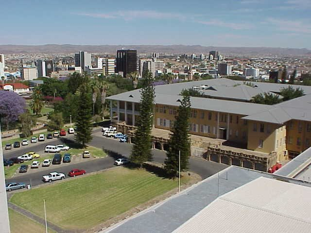 Windhoek view from Tin Tin Palace, Namibia
