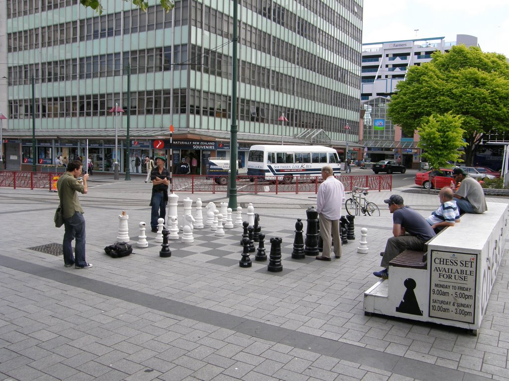 Cathedral Square, Christchurch, NZ