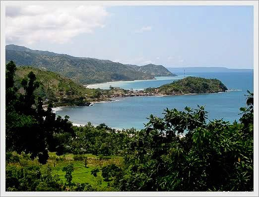 Borgne (Creole: Obòy) is a town on the north coast of Haiti, west of Cap-Haïtien and northwest of Limbé, in Nord Department. The economy there is based on agriculture and fishery. Other nearby places include Port-Margot, Robin, and Fond La Grange.