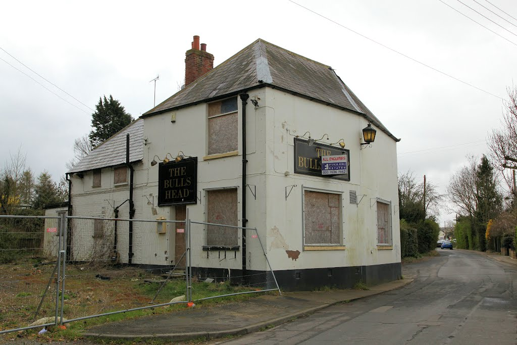 The Bull's Head, Adisham - disused pub
