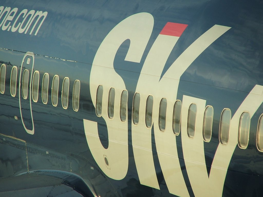 Sky Europe at Schiphol