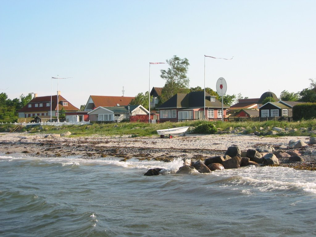 Holiday houses at Storebælt