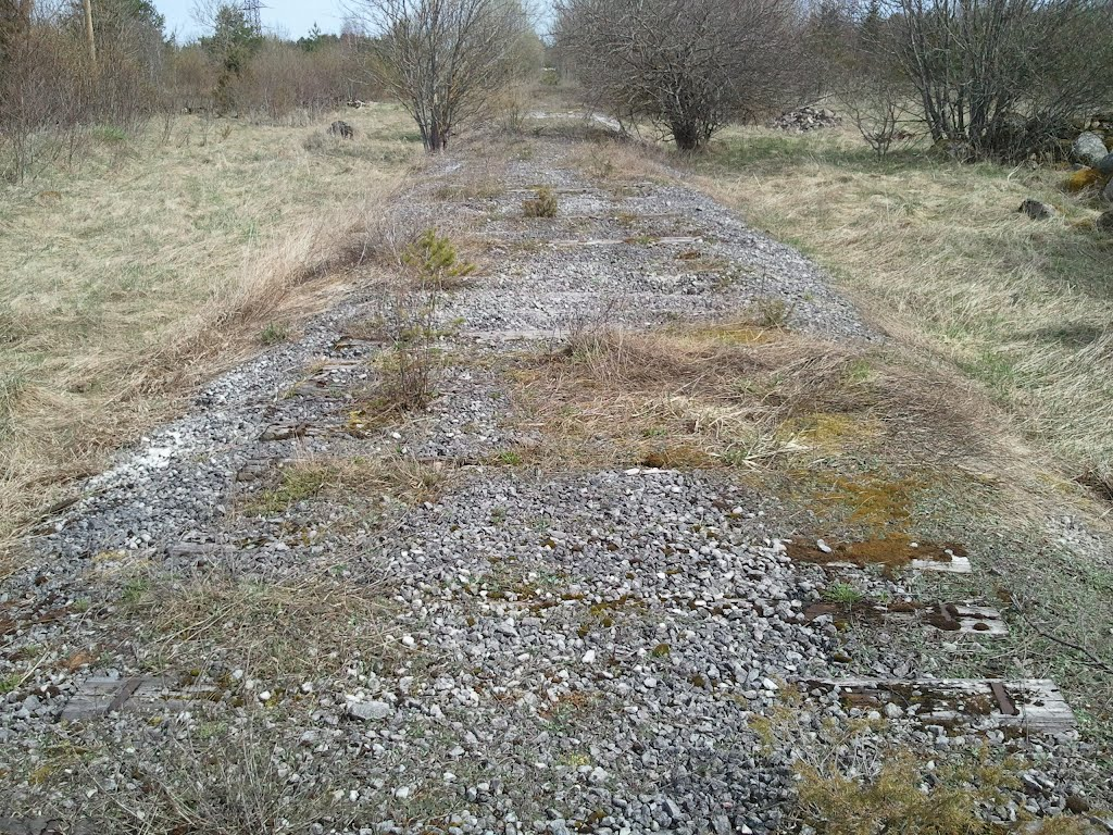 There was a railway