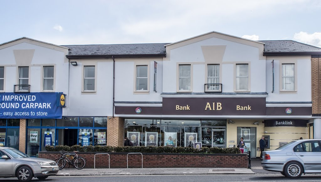 AIB Bank Across The Road From Stillorgan Shopping Centre