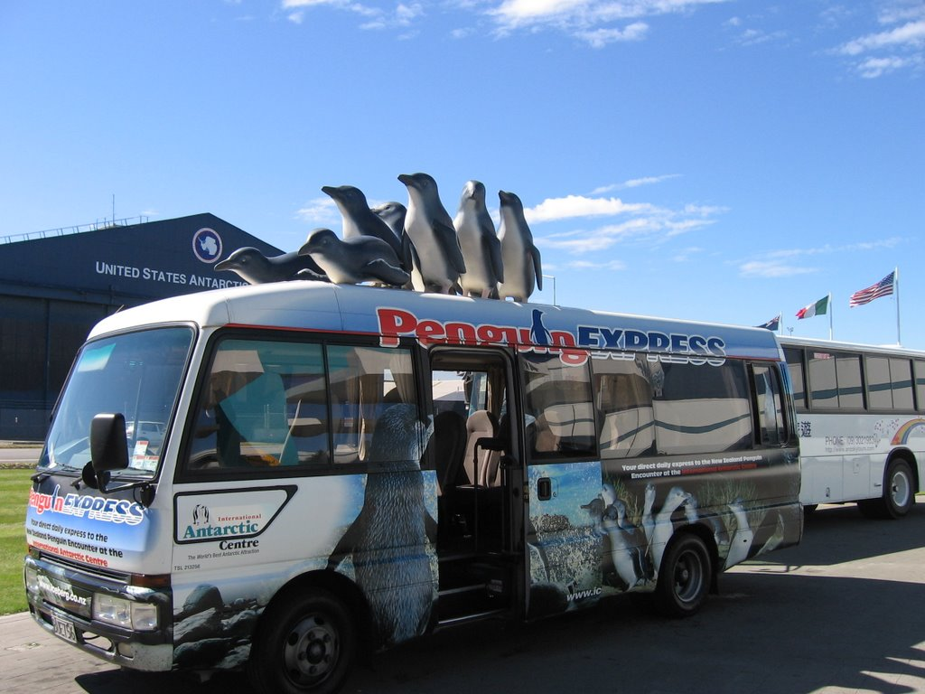 Christchurch - Transport to the Antartic Centre