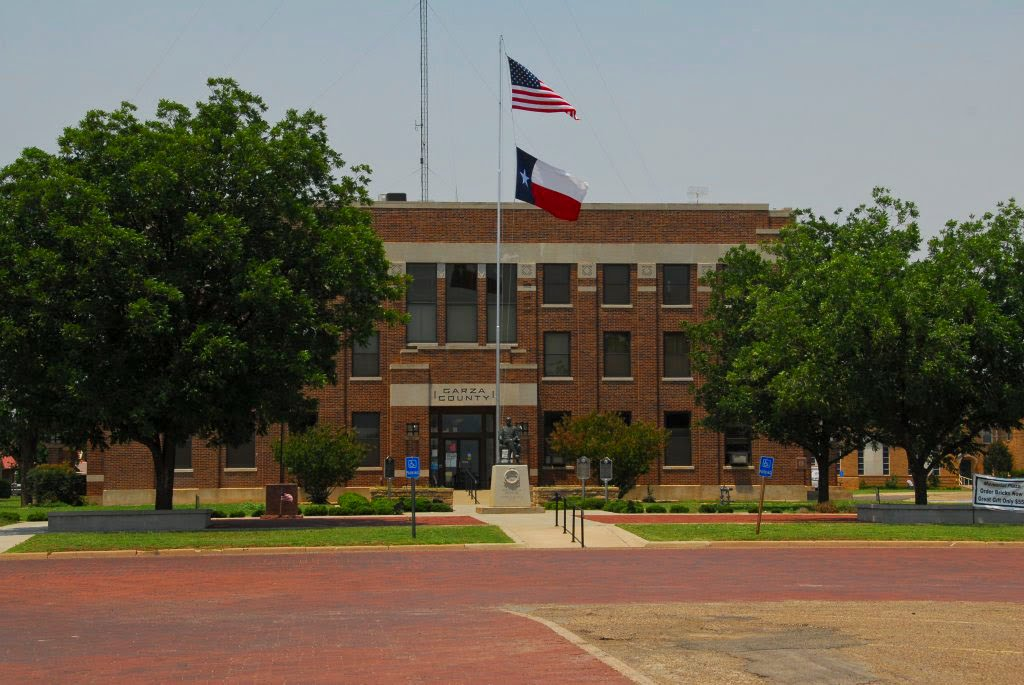 Garza County courthouse