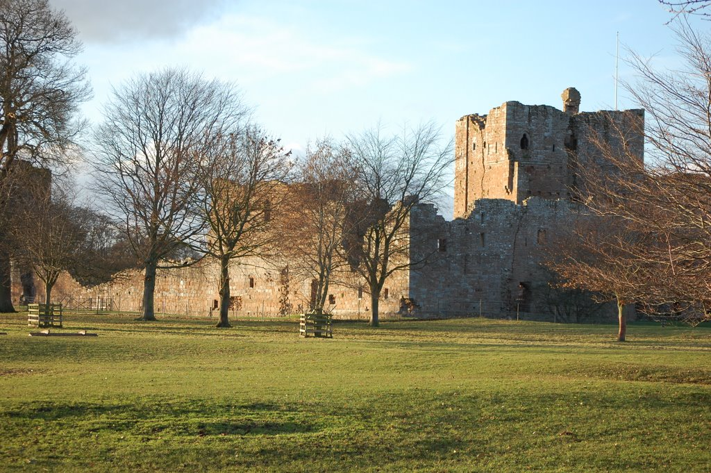 Brougham Castle from the back