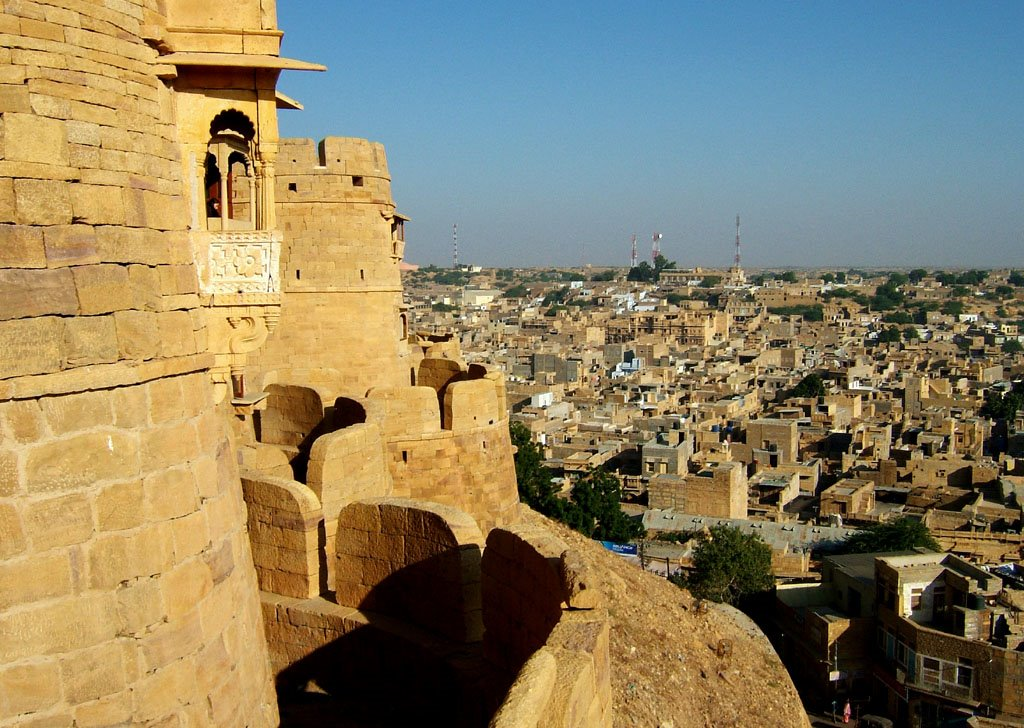 Jaisalmer-Fort and the City