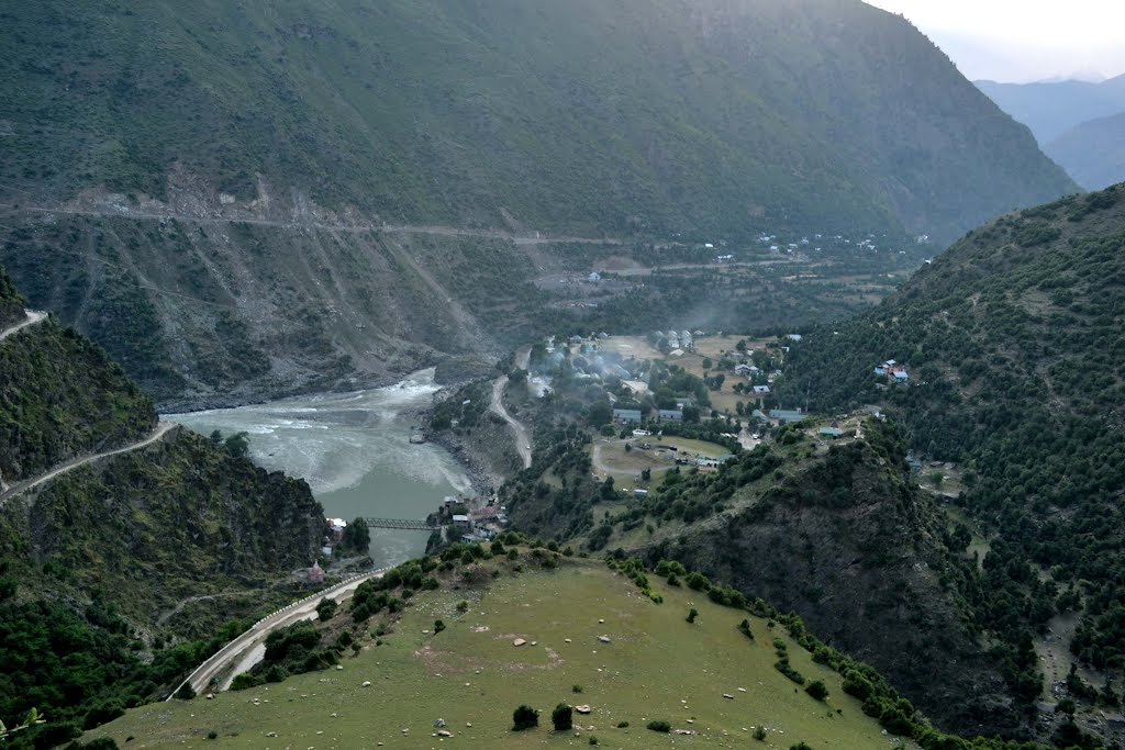View of Banderkot/Chenab River