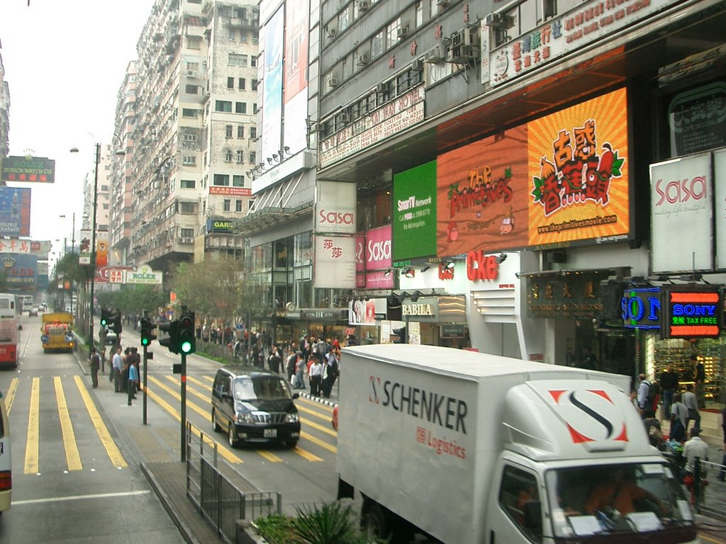 Hung Hom station to airport, Citybus A21 route 紅磡車站到機場搭A21雙層巴士沿途景色
