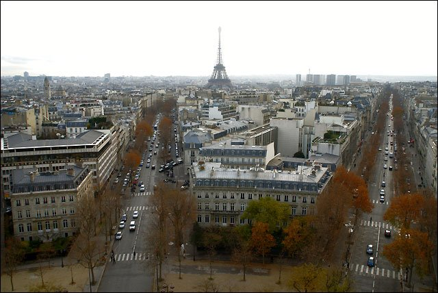 It view from the Triomphe