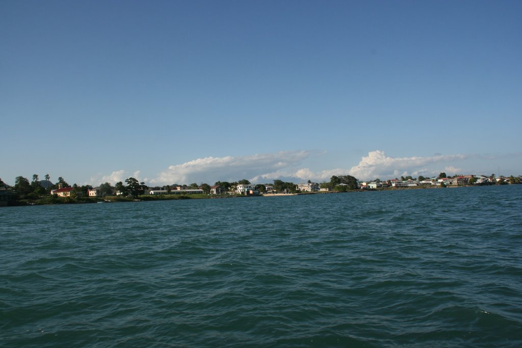 Coming into Punta Gorda from the South