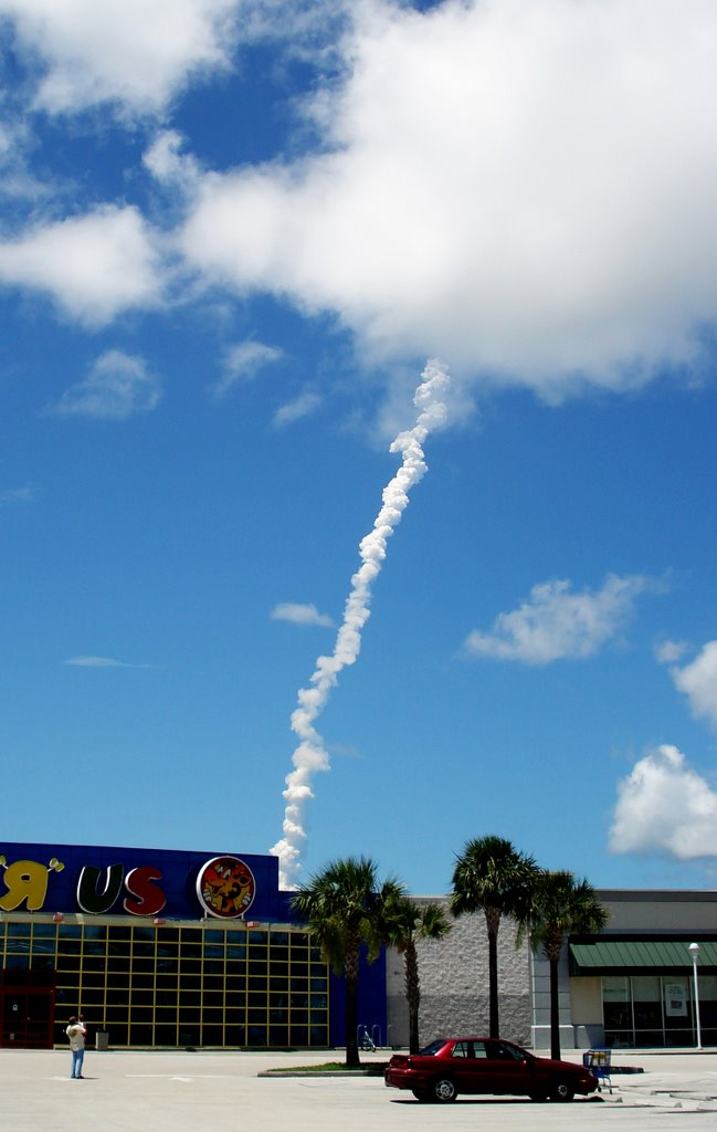 After a Space Shuttle Launch