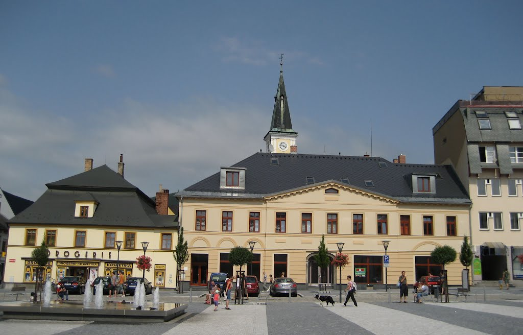 The Town Of Jeseník, The Masaryk´s Square, Pic # 2