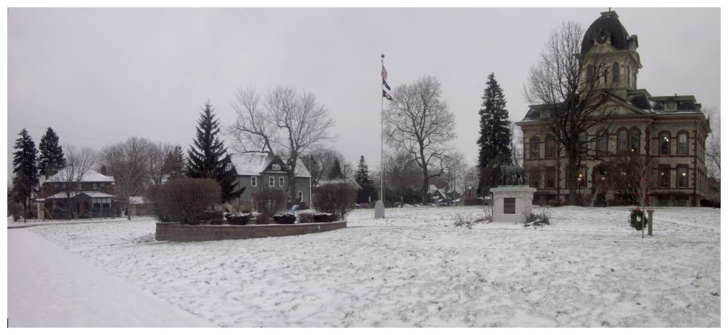 Chippewa County Courthouse Grounds, Sault Ste. Marie, Michigan