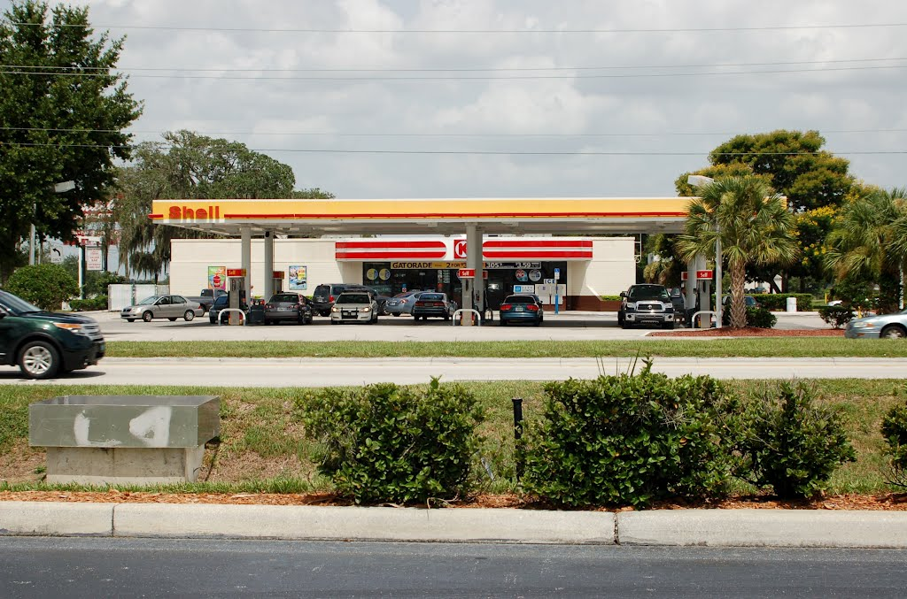 Circle K and Shell Gas Station at Winter Haven, FL | Mapio net