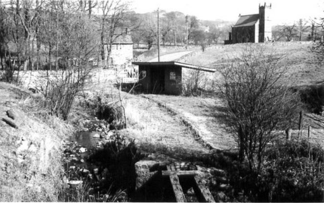 (Historical) Ashover Light Railway, Butts station looking very sad.
