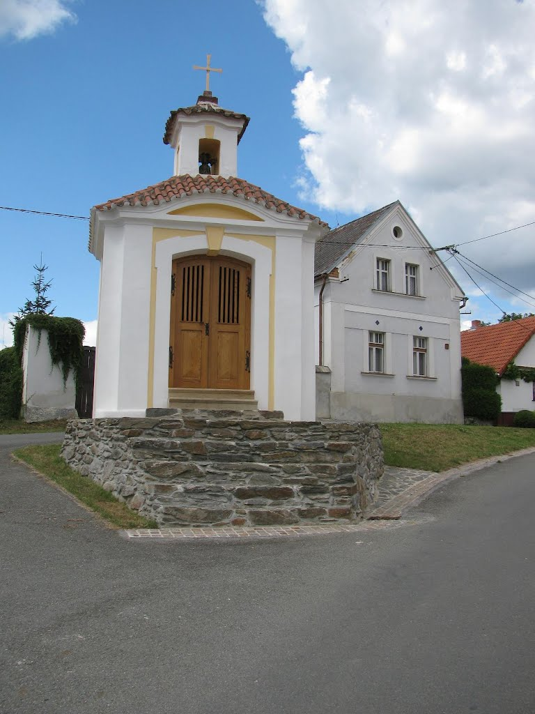Chapel in Plešnice village