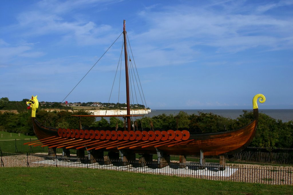 Viking ship in Ramsgate