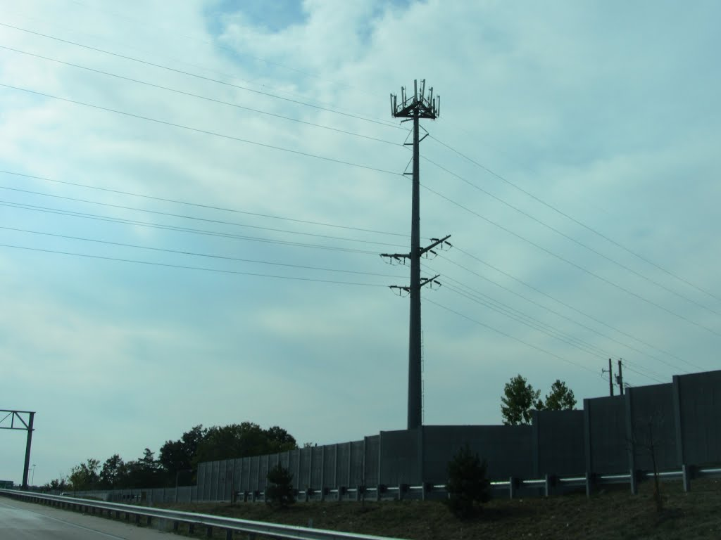 Cell & High Tension Tower
