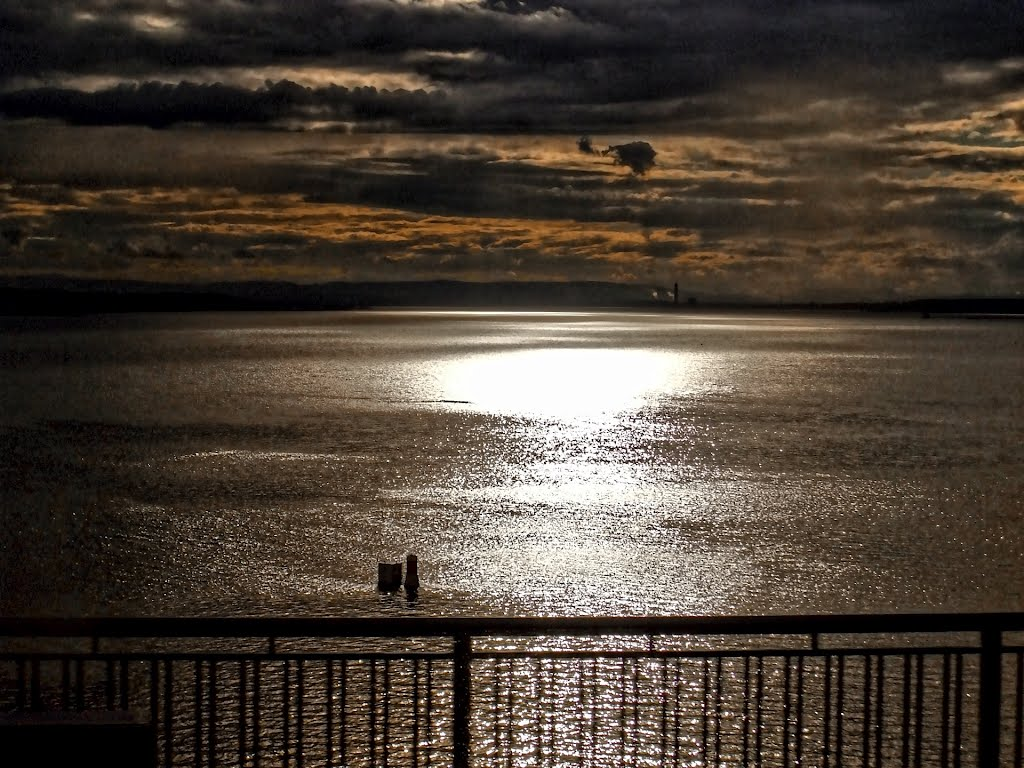 Firth of Forth (from Forth Road Bridge), Scotland