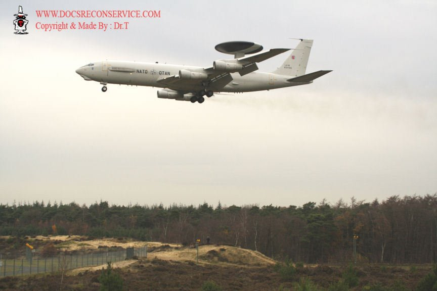 Woensdrecht AFB E3A AWACS TG made By Dr.T 2007
