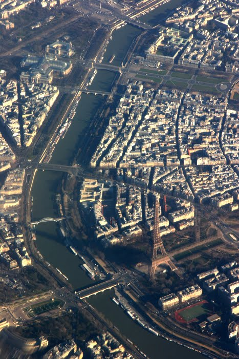 Paris From Overhead