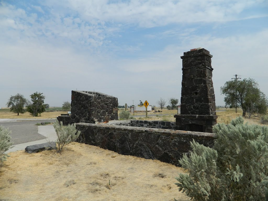The last remaining original structure of the Japanese Internment camp at Minidoka, ID.